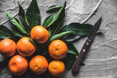 Citrus on table: mandarin, tangerine by OS  on @creativemarket