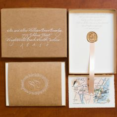 Elegant Boxed Invitation Set