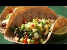 Vegetarian Tacos: What's For Dinner WEDNESDAY|| Kin Eats