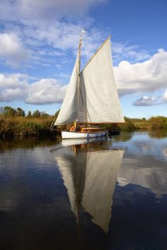 The Norfolk Broads, Norfolk, England | Try these British adventures: http://www.roughguides.com/article/wet-wild-twelve-watery-adventures-across-britain/