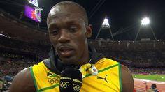 BBC Sport - Usain Bolt wins Olympics 100m final at London 2012