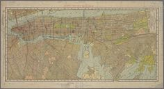 Hammond's new Guide Map of Manhattan and the Bronx. 1912