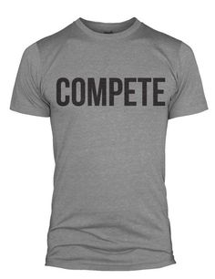 I really like the #sanserif font and the simplicity of this. Are #crossfitmen into shirts that say things on them? If you're a guy, what do you wear to the box?    #crossfit #crossfitguys #crossfitmen #crossfitapparel #crossfitshopping #gymclothes #fitnessapparel #olympicweightlifting #competitor