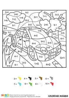 Home Decorating Style 2020 for Coloriage Magique Addition you can see Coloriage Magique Addition and more pictures for Home Interior Designing 2020 at Coloriage Kids. Math Coloring Worksheets, Addition Worksheets, Kindergarten Math Worksheets, Preschool Activities, Math Pages, Homeschool Math, First Grade Math, Math For Kids, Addition And Subtraction