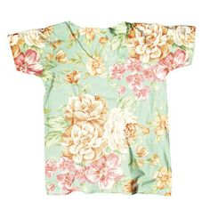 Flowery Tee Unisex, $39, now featured on Fab.