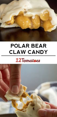 Polar Bear Claw Candies