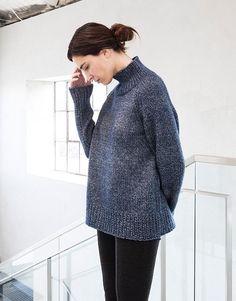 Woolfolk Pattern Kobolt Pullover