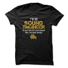 Sound Engineer - #gift ideas for him #housewarming gift. PRICE CUT => https://www.sunfrog.com/Music/Sound-Engineer-78555992-Guys.html?68278