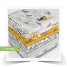 Fat Quarter Bundle Cottons Dashwood Studio Birdsong