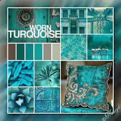 Fotó - Google Fotók Mood Swings, My Mood, Photomontage, Tapestry, Turquoise, Mood Boards, Color, Google, Table