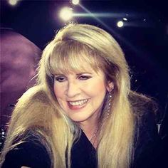 Stevie has such a beautiful smile ~ and hair ~ and jewellery ☆♥❤♥☆
