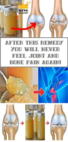 After This Remedy You Will Never Feel Joint and Bone Pain Again! - King Healthy Life