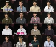 Compilation of JH's outfits on WGM cr. 종현앓이