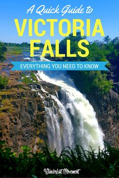 A Quick Guide to Visiting Victoria Falls | Which side of the falls is better? How much is entry to see the falls? I answer all these questions and more in my quick guide to Victoria Falls! Click to read more or pin it now and save it for later. | Africa Travel | Zimbabwe Travel Tips | Zambia Travel | Travel Tips