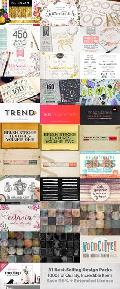 The Essential, Creative Design Arsenal (1000s of Best-Selling Resources) | Design Cuts