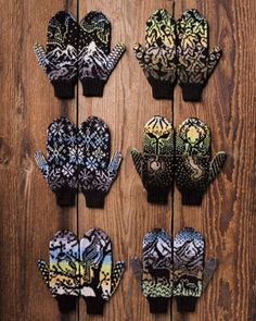 Winter Woodland Mittens (Knitpicks series)