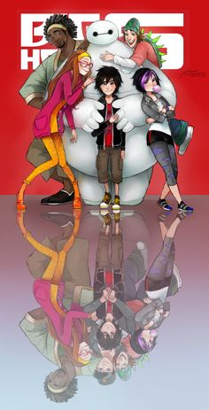 BIG HERO 6 by CHAYI105.deviantart.com on @DeviantArt