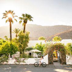 Korakia Pensione - Stunning Palm Springs Gardens - Sunset
