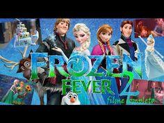 Frozen Fever, Frozen Febre Congelante. (filme completo)