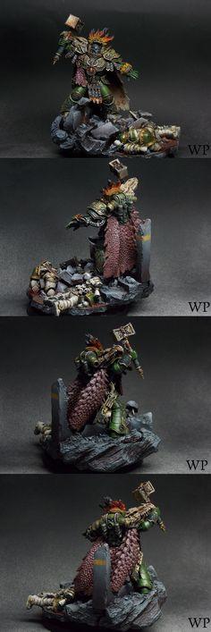 Vulkan Primarch of the Salamanders