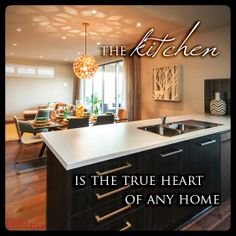 The #kitchen is the heart of the #home! Is that true for you & your #family? #homequote #quote #weeksmacklinhomes - Weeks & Macklin Homes, Builders, Adelaide, South Australia