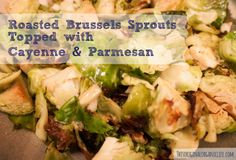 Roasted Brussels Sprouts Recipe via This Original Organic Life