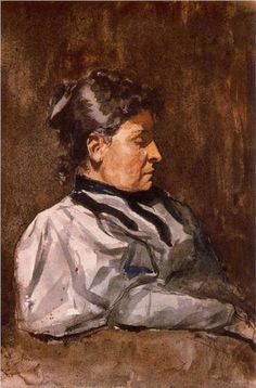 Artist's mother - Pablo Picasso