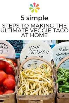 The chefs use local ingredients straight from the farmers' market to create fresh, flavorful tacos and in honor of Cinco de Mayo, they're sharing five simple steps to creating the perfect veggie taco right in your own kitchen. #veggietacos #everydayhealth   everydayhealth.com
