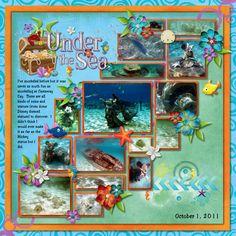Castaway Cay - Snorkeling - MouseScrappers.com