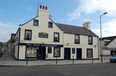 The Eagle Coaching Inn, Broughty Ferry, Dundee. Online Scrapbook, Dundee, Great Britain, Scotland, Coaching, Eagle, Spaces, Drink, Mansions