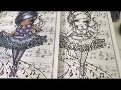 How to use Colored Pencils to create shading in Adult Coloring Books Follow as I color this picture- YouTube