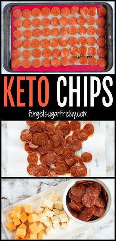 You will LOVE these Keto Pepperoni Chips (aka keto chips)! They're the ultimate easy keto snack recipe. They're a crunchy keto recipe that will definitely remind you of pizza, especially when served with cheese a side of cheese. A perfect keto party recipe! #keto #ketogenic #ketorecipe #ketosnack #lchf via @fsugarfriday