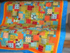 Angel Quilter Bev made this quilt for Matt Percin, John Percin Jr.'s brother, just love the colors in this one!