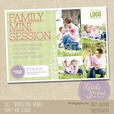 Love the idea of using a flyer for mini sessions!!!!