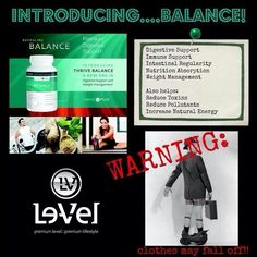 My clothes are really doing this now, thanks to THRIVE BALANCE! https://debbiewalker.le-vel.com