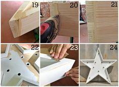 DIY: Estrella de Madera Luminosa