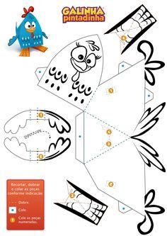 Paper toy - Galinha Pintadinha
