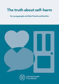 This book aims to help you understand more about self-harm and what to do if you are worried about yourself or someone else