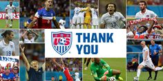 Awesome run in the 2014 World Cup by the USA!