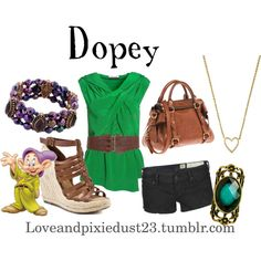 """Dopey"" by loveandpixiedust on Polyvore"