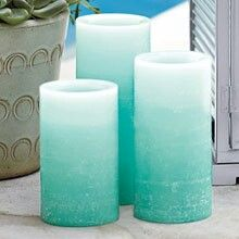 Led flamless pillar candles from partylite. Can be purchased at www.partylite.biz/samanthamurray