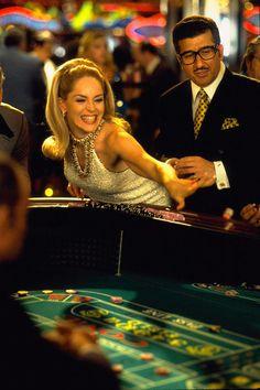 Casino [1995] directed by Martin Scorsese, starring Sharon Stone, Robert De Niro, Joe Pesci, Don Rickles, Alan King, and Kevin Pollak.