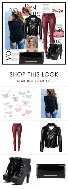 """""""Rose gal  38"""" by fatimazbanic ❤ liked on Polyvore featuring H&M, Brewster Home Fashions, Jimmy Choo, Gucci and Whiteley"""