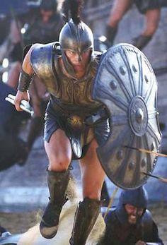Spartan vs Myrmidon: King Leonidas (300) vs Achilles (Troy[2004]) - Battles - Comic Vine