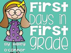 First Days Packet | Teaching With Haley O'Connor