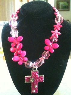 Original One of A Kind Hot Pink Chic  by CowgirlInspiration, $35.00