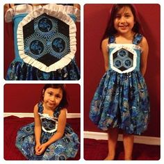 Here is a wonderfully creative entry into Create Kids Couture Teagan contest! Beautiful. www.createkidscouture.com/teagan