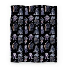 Cutie Souls - This dark souls blanket are perfect for those who love horror, dark fantasy, monsters, video games and also...cute, kawaii chibi versions of their favorite dark souls characters and bosses such as the sun bro, Firekeeper, Yhorm the giant, Siegward, Sister Friede and the Nameless King. This monster blanket will be cute little reminders of the many, many many brutal ways this game has murdered you and made you cry tears of rage.