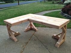 DIY Corner Desk – Little Home Happiness