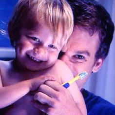 Dexter and Harrison. the cutest father and son relationship!!!!